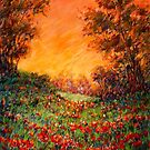 'Warm Evening Reds' by Helen Miles