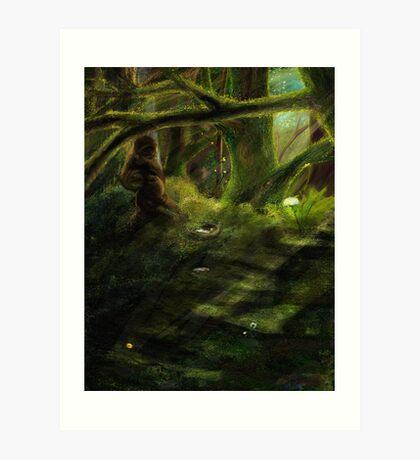 Peaceful, Not Forgotten Art Print