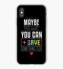 Vinilo o funda para iPhone Tal vez puedas AHORRAR algo más