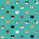 Cat heads cute pet gifts cat lover cat person must haves cat breeds  by PetFriendly