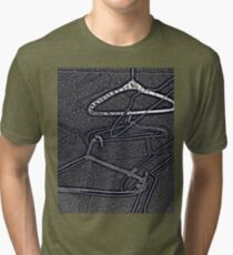 Love Clothes? Don't forget hangers! Tri-blend T-Shirt