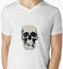 Sherlock Skull Men's V-Neck T-Shirt