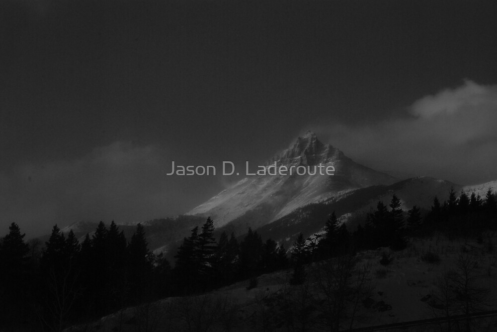 Frozen Erosion  by Jason D. Laderoute
