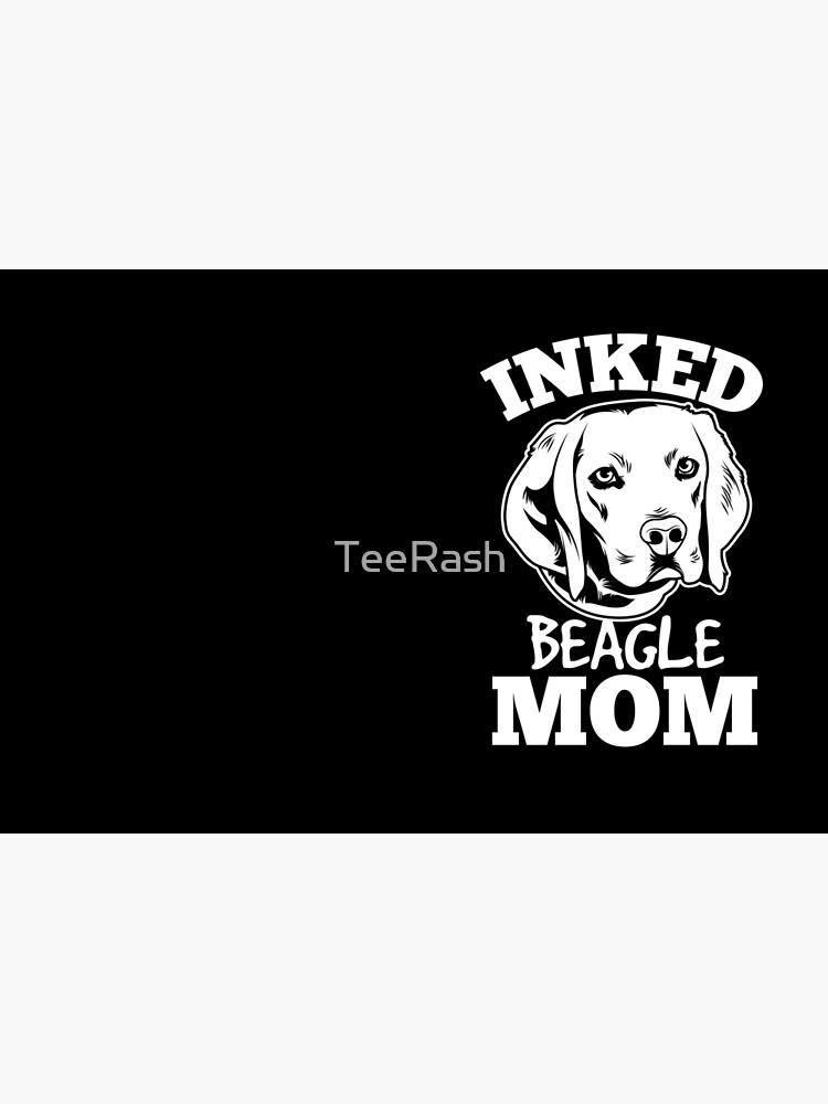 Inked Beagle Mom de TeeRash