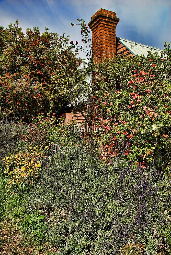 Cottage Garden by Dulcie
