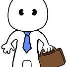Business man cartoon by ShellyG14