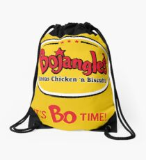 Bojangles Restaurant It's Bo Time!  Drawstring Bag