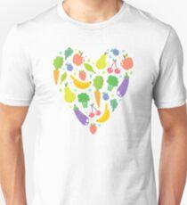 Veggie heart Unisex T-Shirt