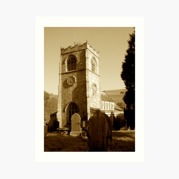 Burnsall Church, Yorkshire Dales Art Print
