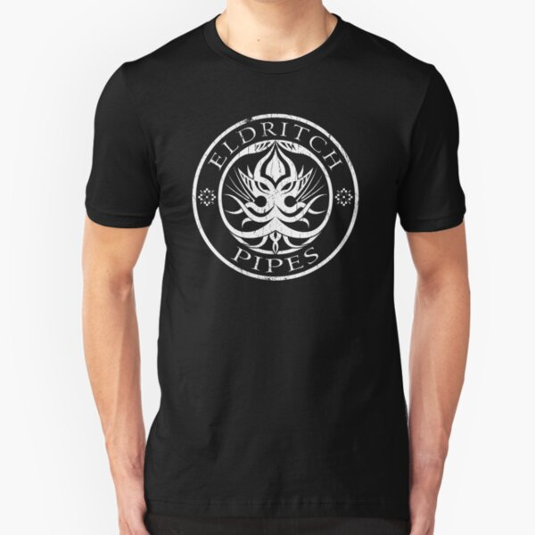 Eldritch Pipes (aged) Slim Fit T-Shirt