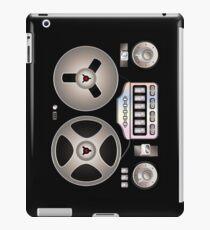 Tape Recorder Retro Magnetophon  iPad Case/Skin