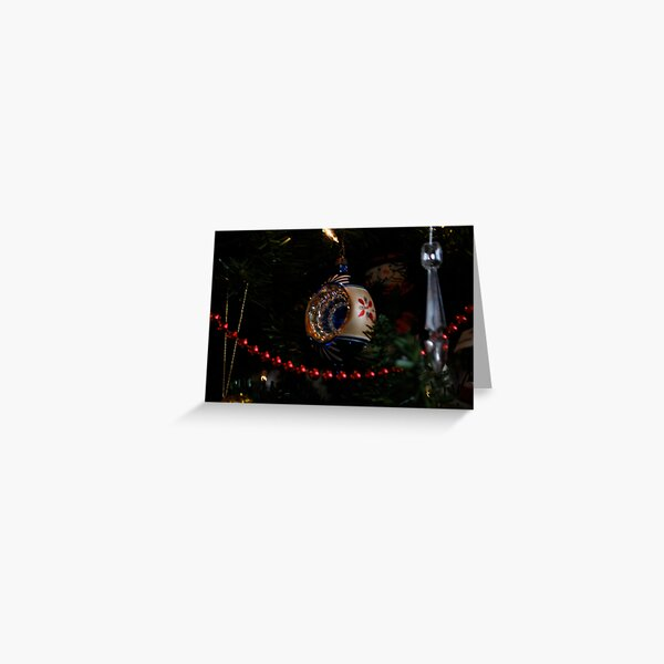 antique christmas decoration Greeting Card