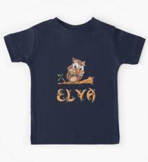 Elva Owl Kids Tee
