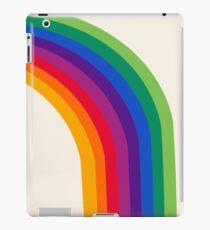 Groovy - rainbow 70s 1970s style retro throwback minimal happy hippie art decor iPad Case/Skin