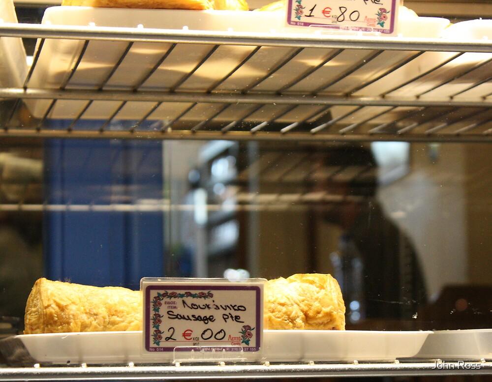 sausage pie by John Ross