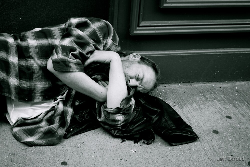 on the street  by Jeff stroud