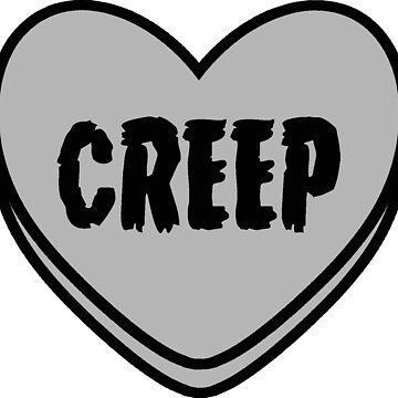 Creep Valentine Heart by Lunacat83