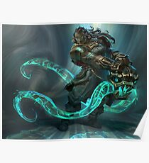 Tentacle monster Poster