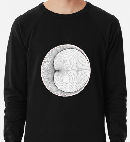 Linear Cardioid  Lightweight Sweatshirt