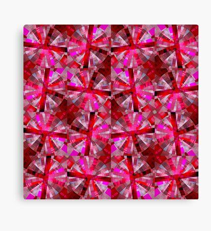 Ultimate Pink Pattern Canvas Print