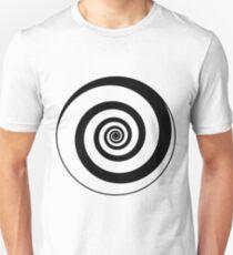 #target #aim #accurate #dart #accuracy #hittarget #dartboard #archery #bullseye #spiral #goal #circular #license #arrow #patent #design #vortex #blackandwhite #monochrome #copyspace #circle  Unisex T-Shirt