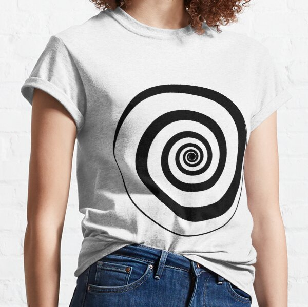 #target #aim #accurate #dart #accuracy #hittarget #dartboard #archery #bullseye #spiral #goal #circular #license #arrow #patent #design #vortex #blackandwhite #monochrome #copyspace #circle  Classic T-Shirt