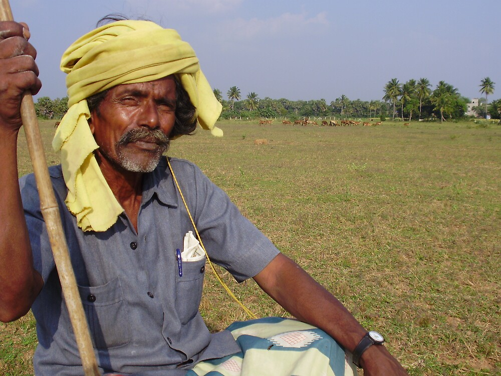 Indian Shepherd by JohnFRomeo