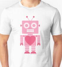 Cute Girly Robot Unisex T-Shirt