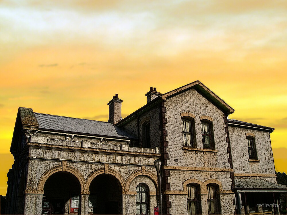 Morpeth by reflector