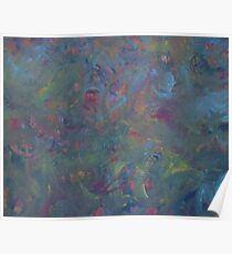 ABSTRACT SPRING FLOWERS(C2008) Poster
