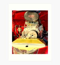 RED...................HOT.............AND LOVIN IT!! Art Print