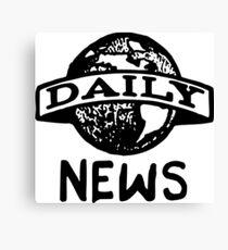 Daily News Canvas Print
