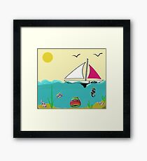 Gavin - original artwork to personalize your gift Framed Print