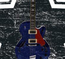 Vintage Star Guitar Sticker