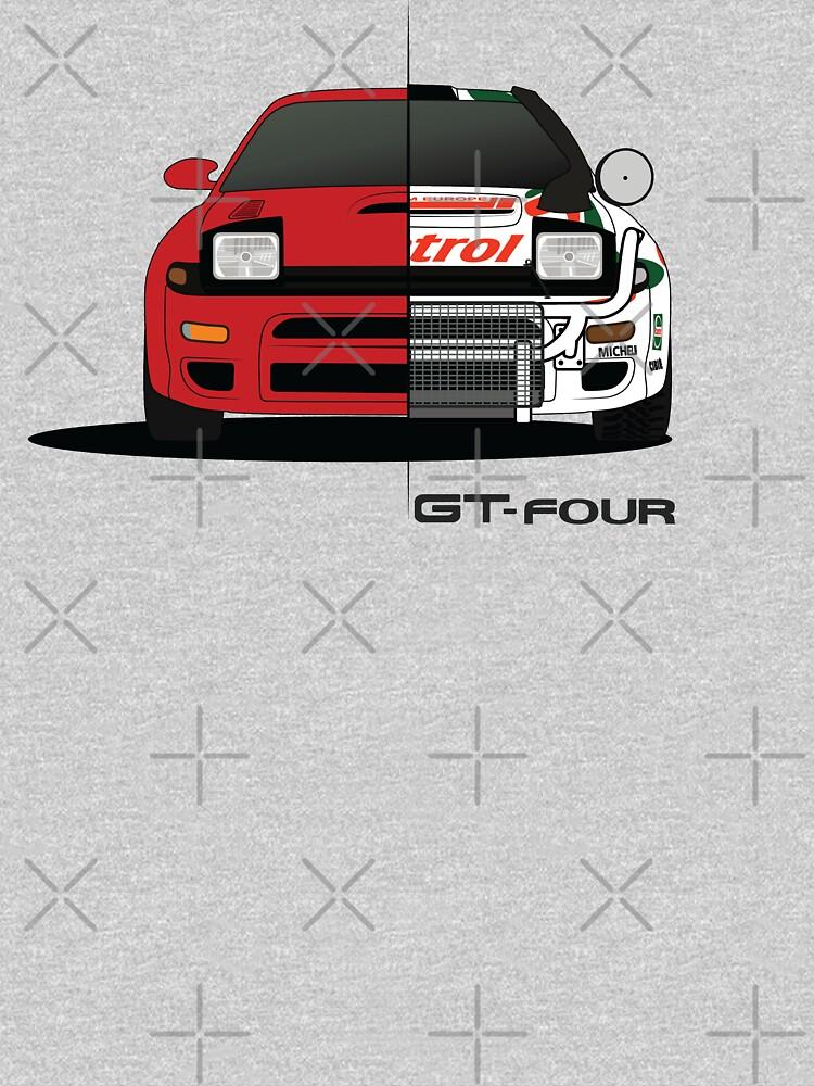 Celica GT-four by AutomotiveArt