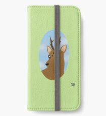 Deer in the forest iPhone Wallet/Case/Skin