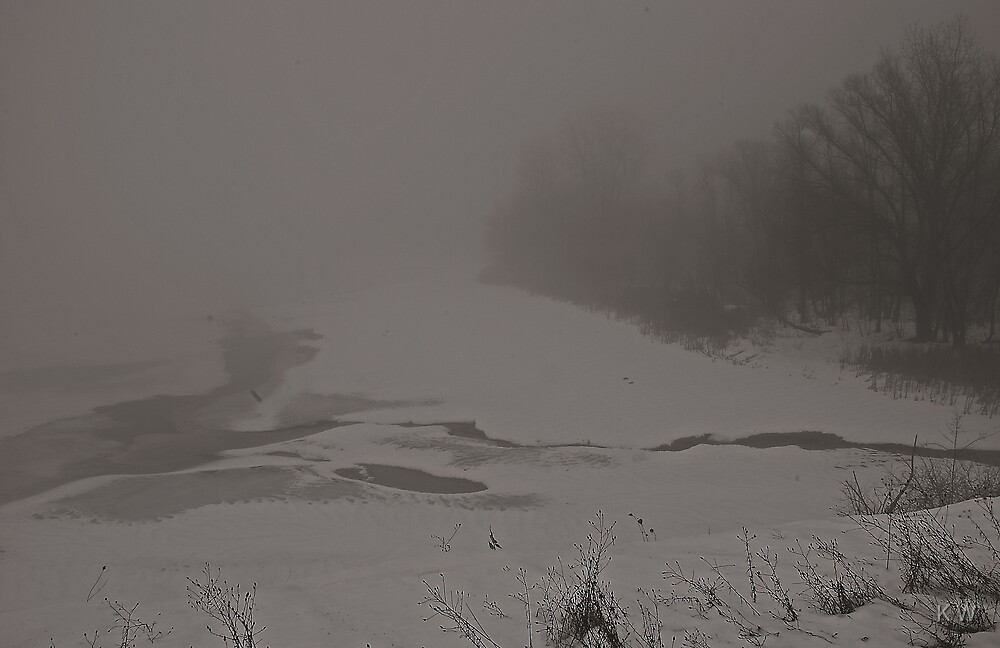 Misty River. by K W