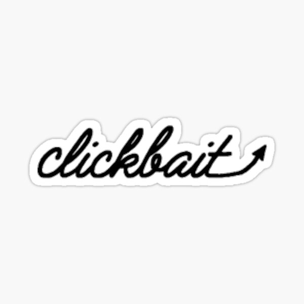 David Dobrik Clickbait Sticker
