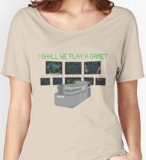 War Games W.O.P.R. Women's Relaxed Fit T-Shirt