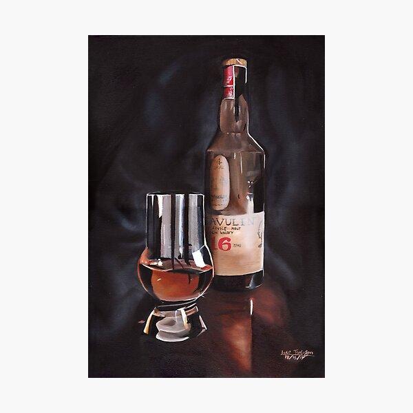 The Single Malt Scotch Photographic Print