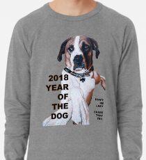 The Year of the Dog 2018 Lightweight Sweatshirt