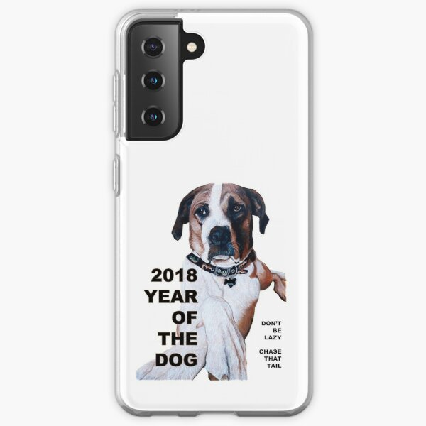 The Year of the Dog 2018 Samsung Galaxy Soft Case