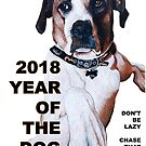 The Year of the Dog 2018 by Tom Roderick