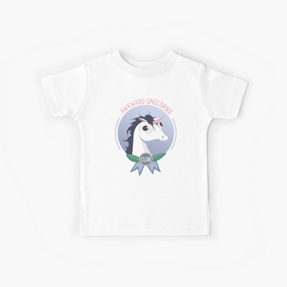 Awkward Unicorns Club Kids T-Shirt
