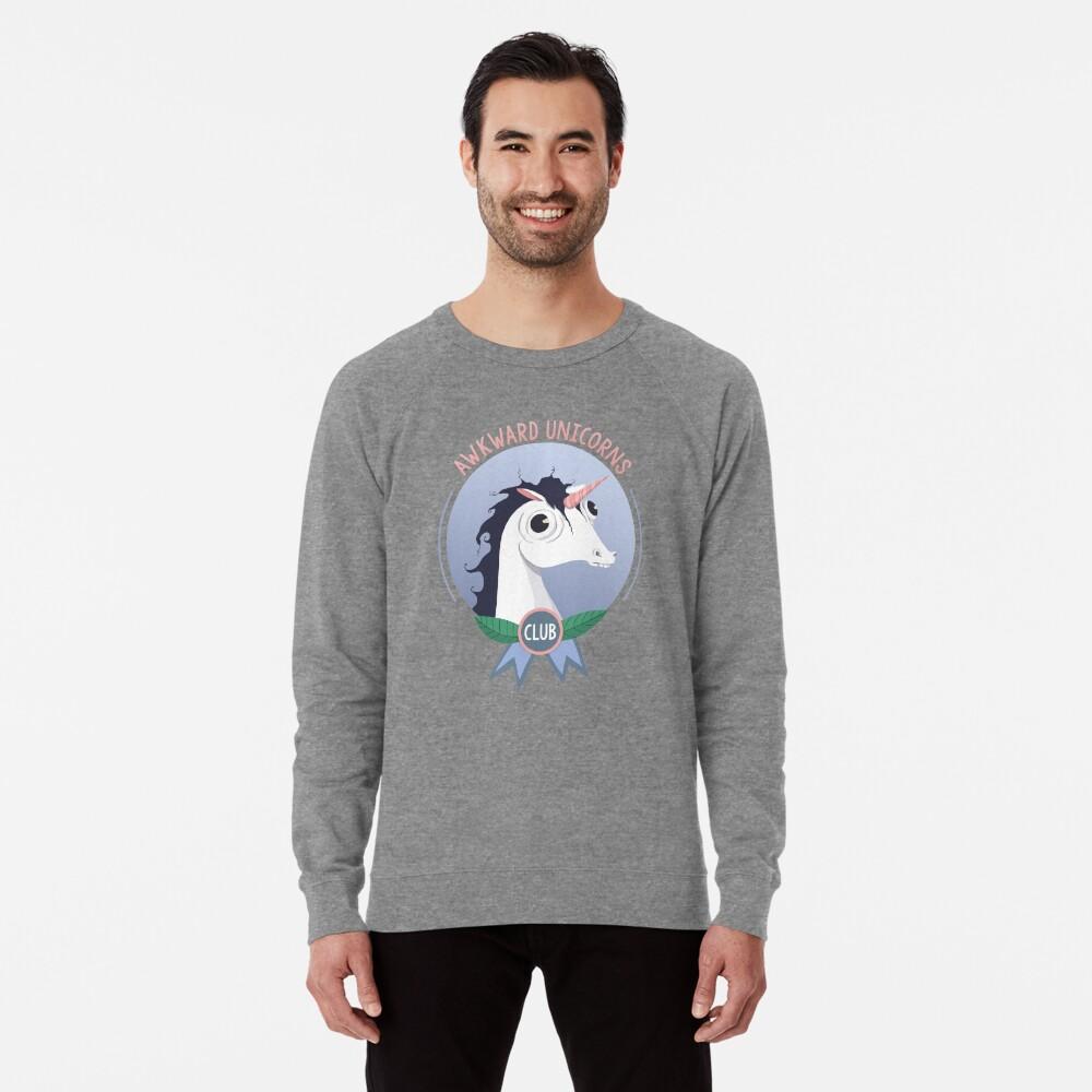 Awkward Unicorns Club Lightweight Sweatshirt
