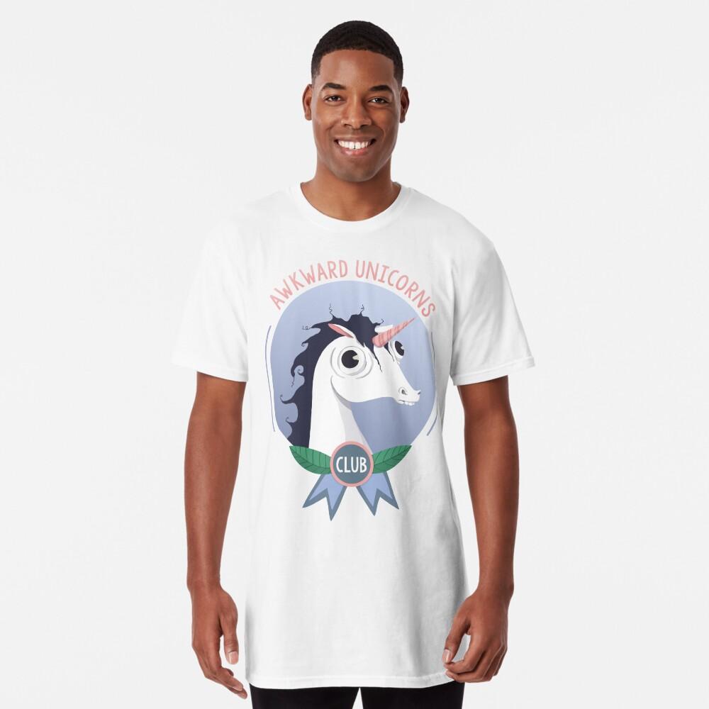 Awkward Unicorns Club Long T-Shirt