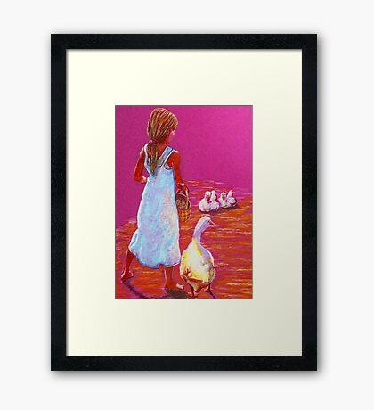Little Mother Goose #2 Framed Print