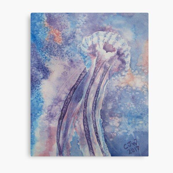 Jellyfish Nebula Metal Print