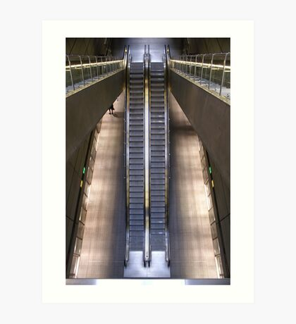 Kopenhagen subway station (2) Art Print