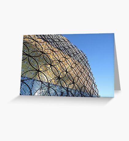 Birmingham Library, England Greeting Card